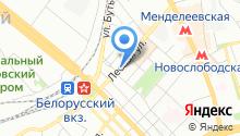 Центральное юридическое агентство на карте