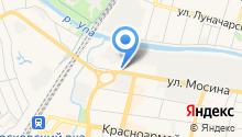 Satels на карте