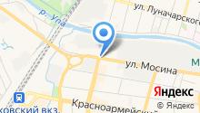 HTF на карте