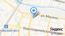 Швейный на карте