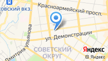 City flat на карте