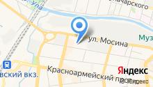 Магазин женской одежды и нижнего белья на карте