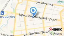 Linda на карте
