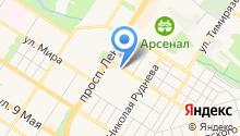 Супермаркет детских автокресел на карте
