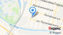 Гайсма на карте