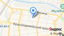 сеть магазиномного мебели на карте