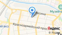 Sana на карте