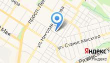 Электраконтакт на карте