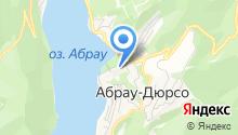 Абрау-Дюрсо, ЗАО на карте