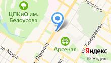 Cernovar на карте