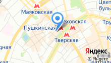Деловая Москва на карте