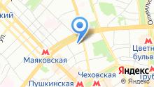 Эскада на карте