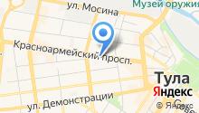 Тульское агентство воздушных сообщений на карте