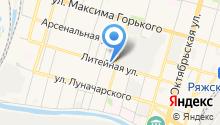 Аквапринт на карте