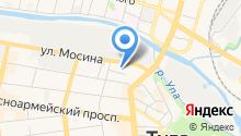 Line на карте