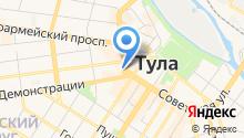 ресторан быстрого питания subway на карте