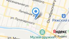 Центр автотехнологий на карте