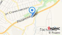 Тульская Автоэвакуация на карте