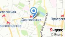 ЮниФактор на карте