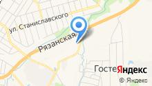 Микроавтобусы на карте