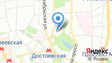 Центральный музей Вооруженных Сил на карте