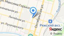 Крузопель на карте