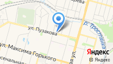 SatellitePLUS на карте
