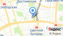 1-й Волконский на карте