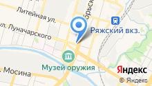 Ясная Поляна на карте