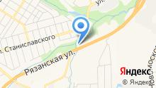 АТЦ Маяк на карте