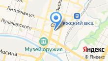 Межмуниципальный отдел МВД России по Тульской области особо важных режимных объектов на карте