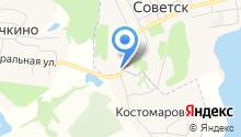 Автомойка на ул. Энергетиков на карте
