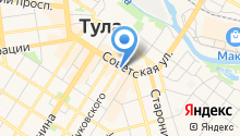 Pedant Тула на карте