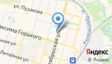 УАЗ на карте
