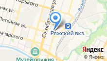 Автоикс на карте
