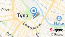 Тульская православная классическая гимназия на карте