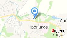 Администрация сельского поселения Любучанское на карте