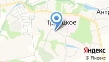 Троицкая амбулатория на карте