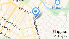 QUKE на карте