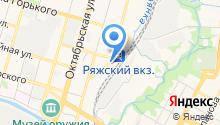 САМ на карте