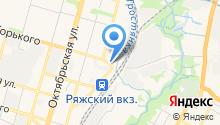 Platina на карте