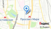 ЭСАБ на карте