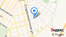 Автостоянка на Пионерской на карте