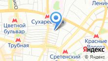Эсиоцентр на карте