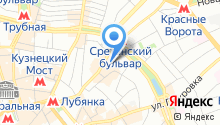 Чакра на карте