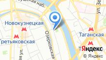 Центральное территориальное управление имущественных отношений, ФГКУ на карте