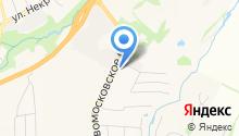 Бавария-Авто на карте