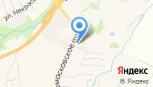 Автокласс Колор на карте