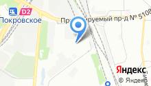 9-й таксомоторный парк на карте