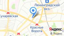 Центральное Агентство Путешествий М на карте